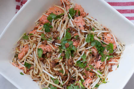 Salmon salad -1
